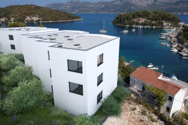 Korcula Holiday Beachview Apartment Olive